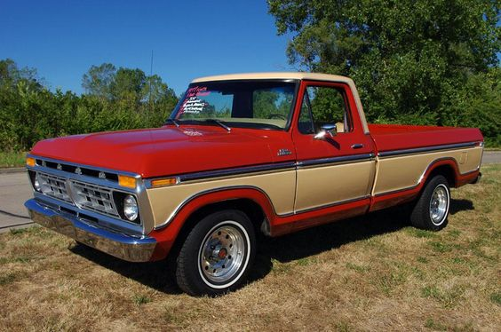 ford trucks | Tumblr: Google Image, Ford Trucks,  Pickup Truck, Projects To Try, Classic Car Restorations