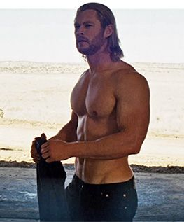 """How Chris Hemsworth dropped 30 lbs for """"Rush"""" and then put it back on for Thor. Great info for anyone!"""