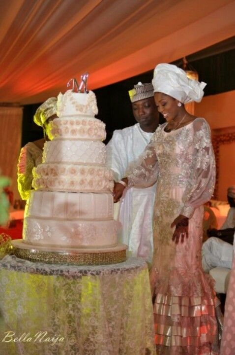 Kanuri traditional wedding cakes