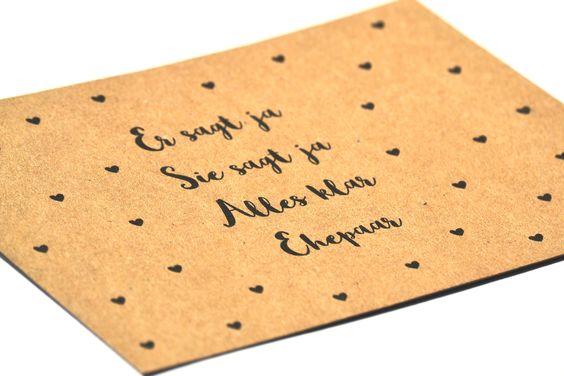 20 Einladungen zur Hochzeit + individueller Text