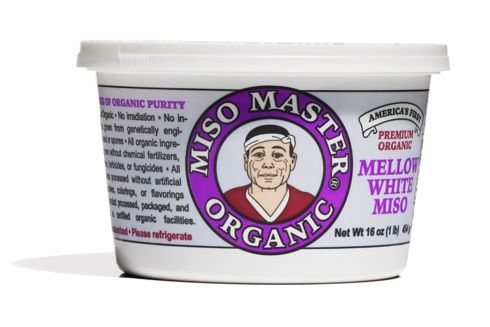 """When your brothy soup or salad dressing is missing backbone, add miso, which is fermented soybean paste. This particular one— a """"mellow white""""—is easy to find (no need to schlep to a specialty market) and, because it's sweeter and less assertive than others, easy to experiment with."""