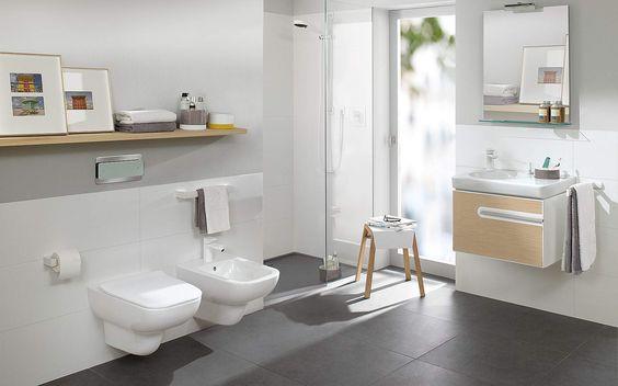 Salle de bain design Villeroy & Boch Joyce | Espace Aubade