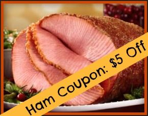 We have a printable Honey Baked Ham coupon to help you save money on your Easter dinner!