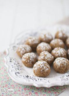 Receta de aprovechamiento: Bolitas dulces de pulpa de chufa. Como aprovechar la pulpa que sobra después de elaborar horchata.