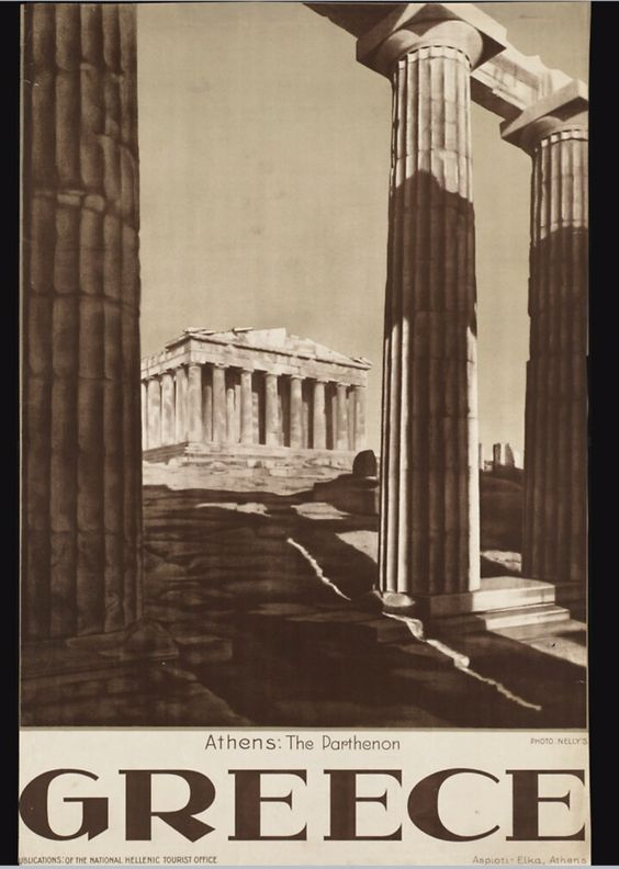 Griechenland Greece Vintage Travel Posters Travel Posters Vintage Posters