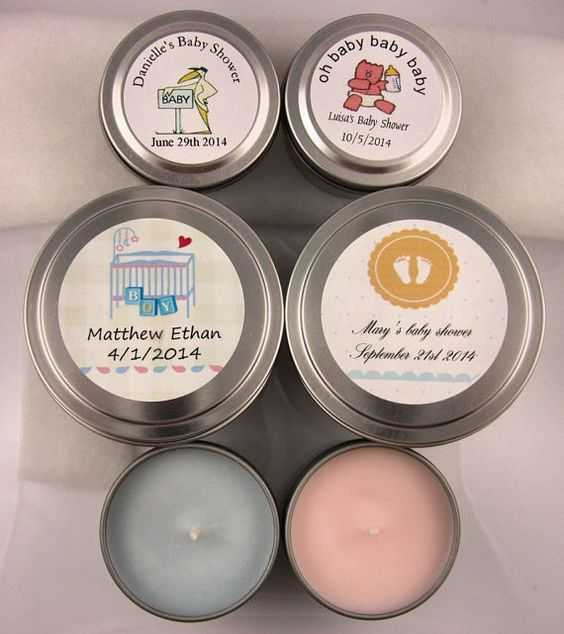 Customized Tin Soy Candles by TheSentimentalFool on Etsy, $4.00
