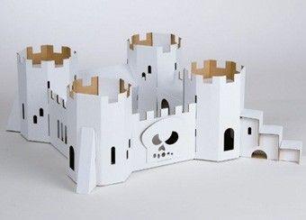 construction en carton 39 ch teau de pirates 39 personnaliser deco jeunesse pinterest fait. Black Bedroom Furniture Sets. Home Design Ideas