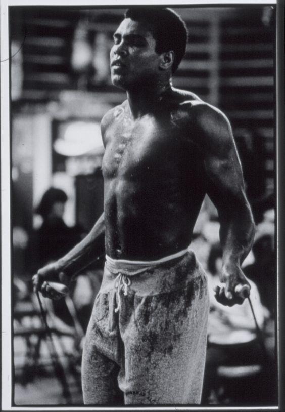 Muhammad Ali http://muhammadalipage.com/muhammad-ali-and-mike-tyson-on-same-talk-show/