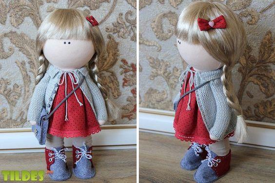 Интерьерные куклы для души.   VK
