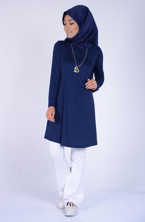 Penye Tunik Modelleri Ve Fiyatlari Tesettur Giyim Sefamerve Giyim Tunik Moda Stilleri