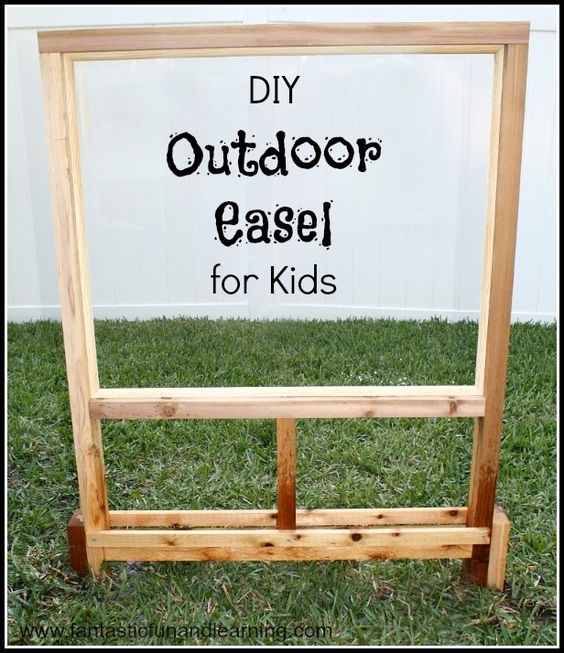 Outdoor Easel Easels Outdoor Art And Outdoor