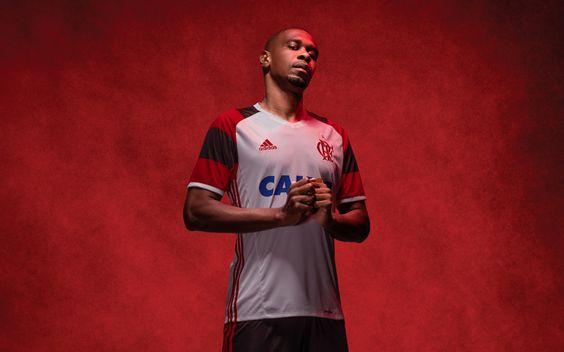 Camisa reserva do Flamengo 2016-2017 Adidas Juan
