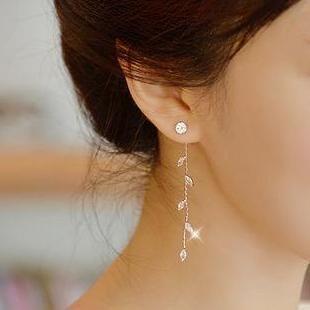 Mua 'Hoa tai hình giọt nước Ticoo - Rhinestone' với Giao hàng quốc tế Miễn phí tại YesStyle.com.  Duyệt và mua sắm hàng nghìn mặt hàng thời trang châu Á từ Trung Quốc và hơn thế nữa!