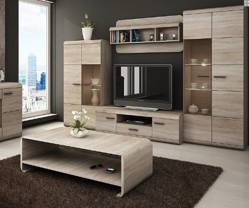 Luka - Modern Set - Tv Table - Entertainment Unit - Tv Stand