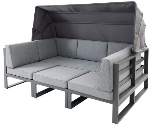 Long Island 4tlg Loungeset In 2020 Lounge Mobel Kleines Sofa