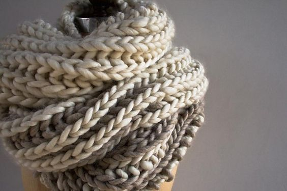 Ravelry: Color Dipped Scarves pattern by Purl Soho