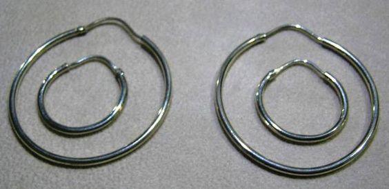Argollas hechas en plata 950.