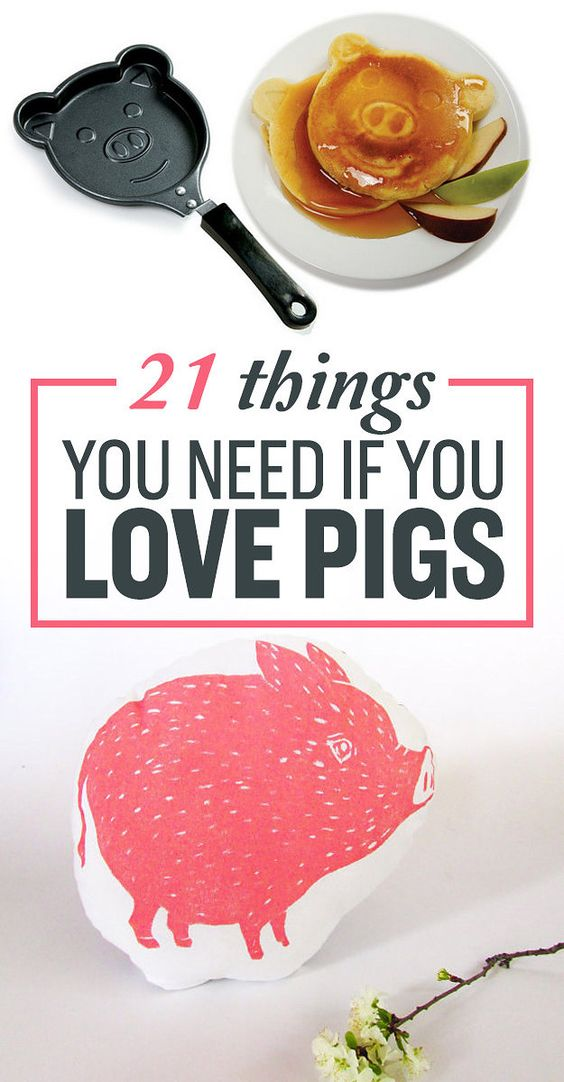 21 Adorable Christmas Makeup Ideas 2013: 21 Adorable Things You Need If Pigs Are Your Favorite