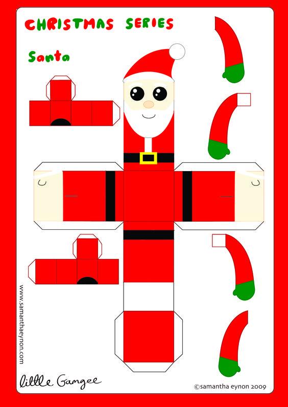 PAPER TOY CHRISTMAS - Pesquisa Google