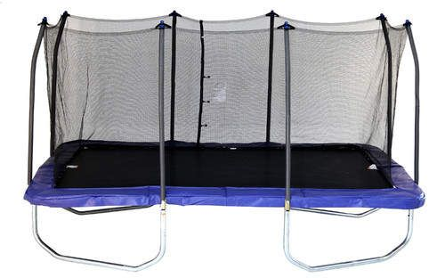 15 Rectangle Trampoline With Safety Enclosure Rectangle