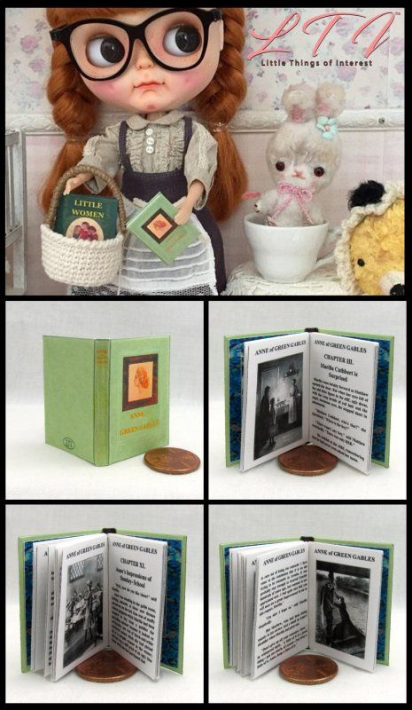 Miniature Book Kit Anne of Green Gables