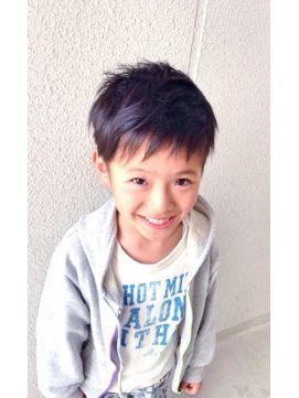 髪型 男の子 髪型 子供 : jp.pinterest.com