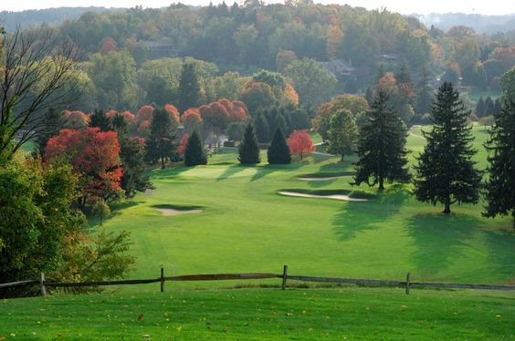 Spectacular view of the Granville Golf Course.