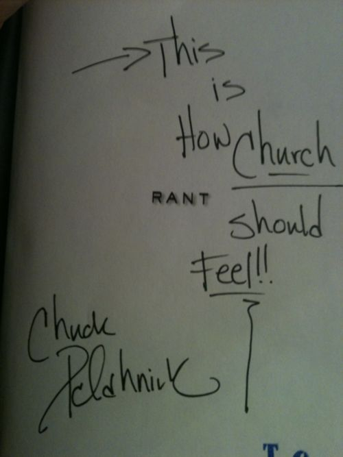 Rant by Chuck Palahniuk - One of my fav books ever written