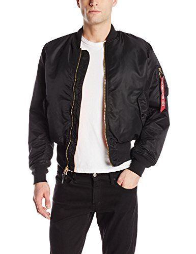 ALPHA INDUSTRIES Ma-1 Lw Iridium Slim Bomber Jacket Blue
