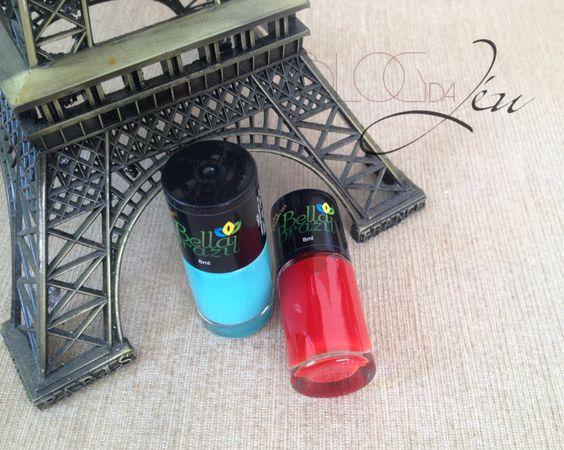 Hoje tem resenha de mais dois vidrinhos da Bella Brazil, coleção Lindas Brasileiras. Vem ver!!! http://blogdajeu.com.br/bella-brazil-l…as-brasileiras #unhas #nails #unhasbonitas #esmaltes #bellabrazil #esmaltebellabrazil #novacolecao #lindasbrasileiras #colecaolindasbrasileiras