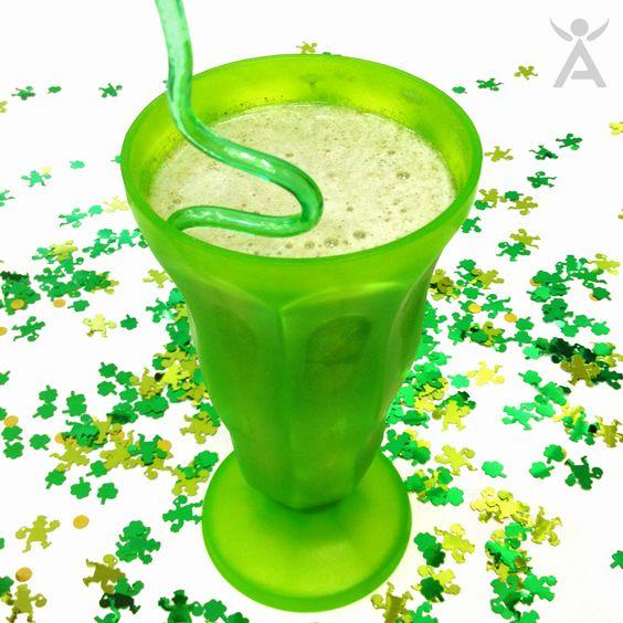 St. Patrick's Day Protein Shake Recipe | Isagenix Inspired Recipes ...