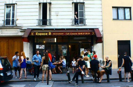 L'Espace B : temple parisien de la musique indé /// http://espaceb.net /// 16, rue Barbanègre, 75019 Paris, France