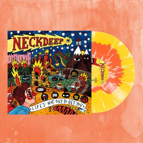 Neck Deep Quot Life S Not Out To Get You Quot Lp Pre Order