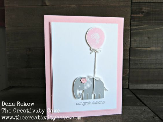 Sweet Baby Elephant by drekow - Cards and Paper Crafts at Splitcoaststampers