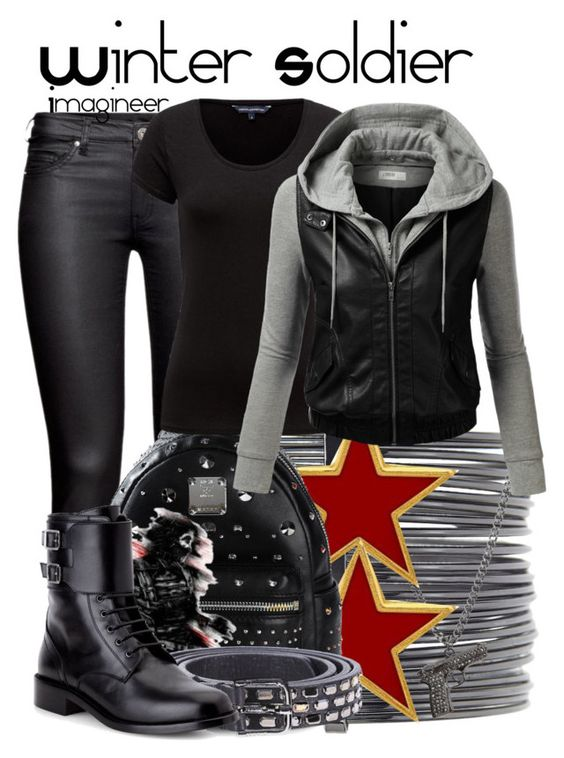 """""""The Winter Soldier (Captain America: The Winter Soldier)"""" by claucrasoda ❤ liked on Polyvore"""