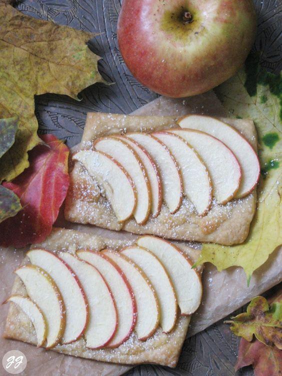 {Rezept} Himmlische Apfelgalette – Glücksgenuss