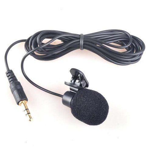 Sodial 3 5mm Mini Microfono De Computadora Con Clip Sodial Mini Microfono Computadora Clip Microphone Lavalier Headphone Accessories