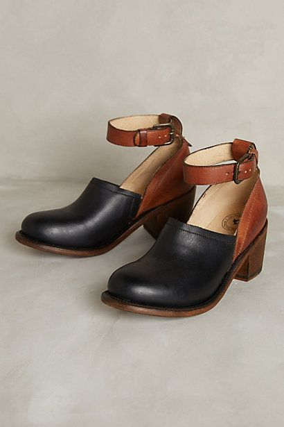 best of both worlds - clogs and ankle shoes -----Wannsee Clogs #anthropologie