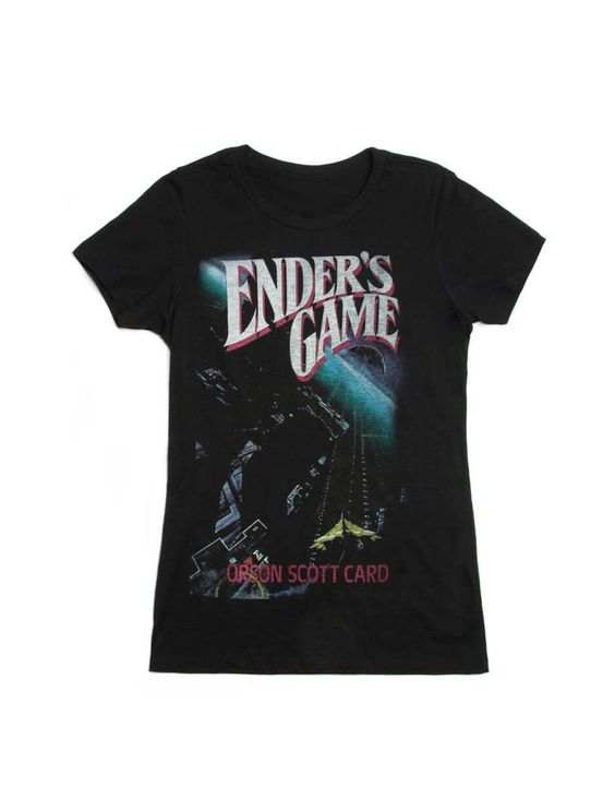 Ender's Game women's book t-shirt – Out of Print