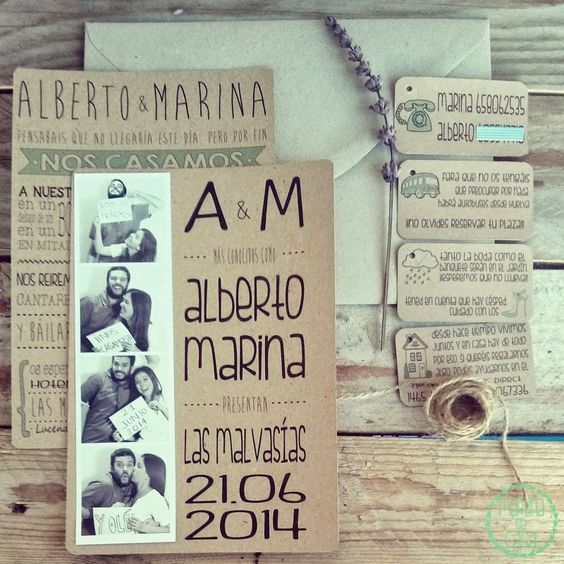 Martina se Casa: La boda de Alberto y Marina: Las invitaciones