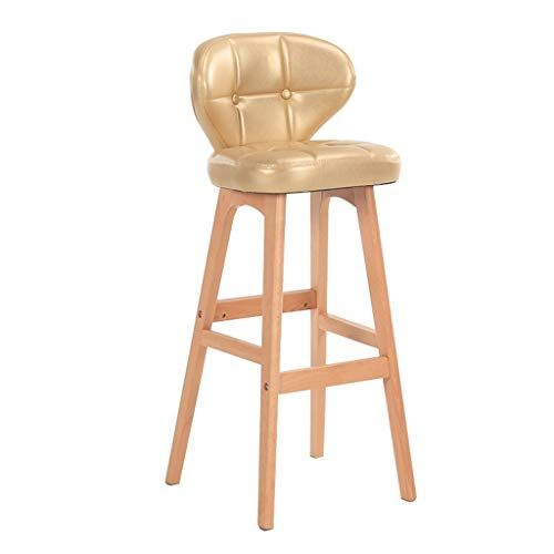 Barstool Bar Chair Bar Chair European Solid Wood Bar Stool Kitchen