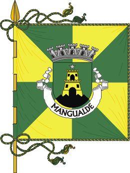 Bandeira de Mangualde