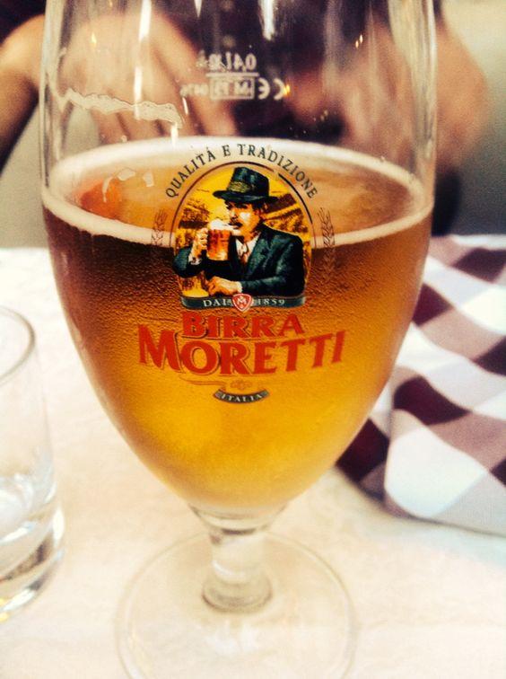 Italy's beer: La Moretti
