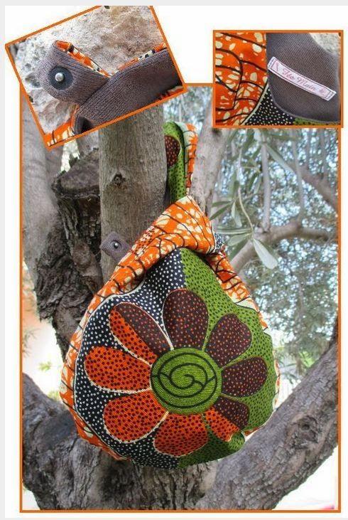 knot bag japonais tissus africain