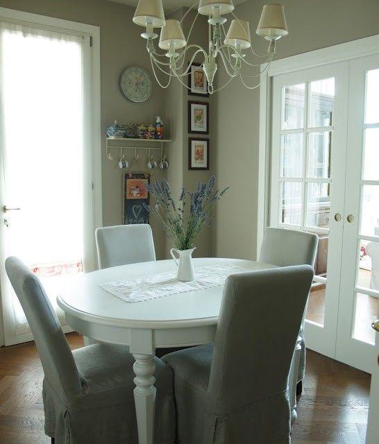Arredare una sala da pranzo piccola - Sala da pranzo elegante