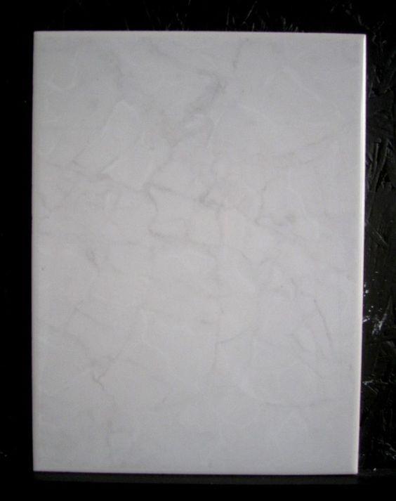 Neu mosa keramik wandfliesen 15x20 cm weiss grau for Wandfliesen grau