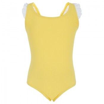 Melissa Odabash Girls Lemon Frill Swimsuit | AlexandAlexa