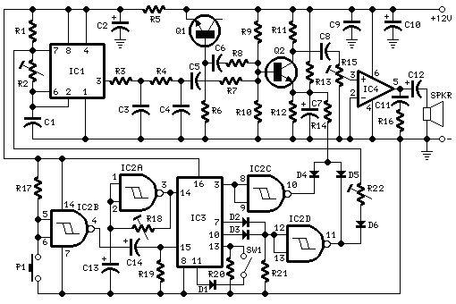 cuckoo sound generator