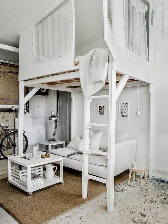 Ikea Loft Bed Bedroom Loft Diy Loft Bed Tiny Loft Loft Kids Loft Beds Post Anything From Anywhere Customize Eve Diy Loft Bed Ikea Loft Bed Tiny Loft