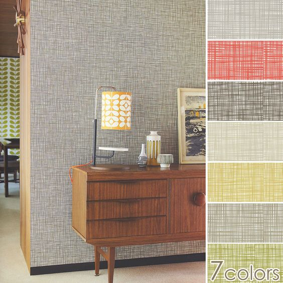 Import wallpaper England Orla Kiely Wallpapers / Harlequin (sold in units of 1 roll (52 cm x 10 m)) fleece wallpapers (nonwoven fabric)